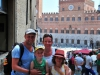Samen pij Piazza del Campo