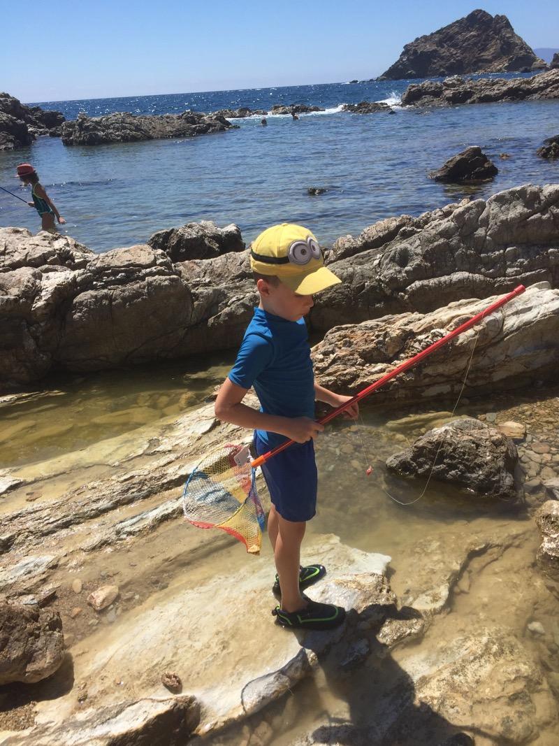 Krabbetjes vangen met de Gorgeltruc
