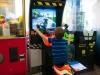 De arcade in met de kids (papa's droom!)
