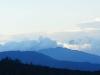 Uitzicht vanuit ons appartement Strawberry Hills einde dag