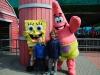En natuurlijk weer met Sponge Bob