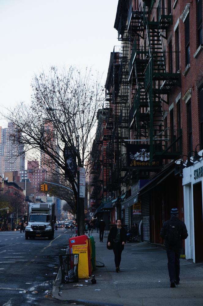 Vrijdagochtend in Manhattan