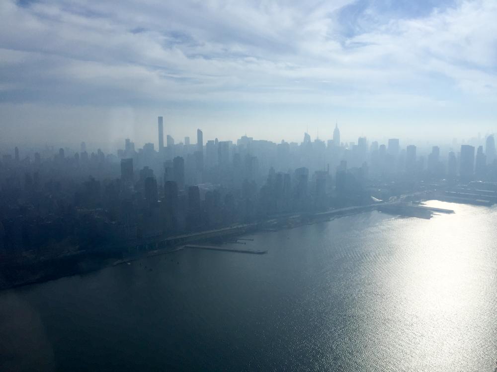 Manhattan vanuit de lucht