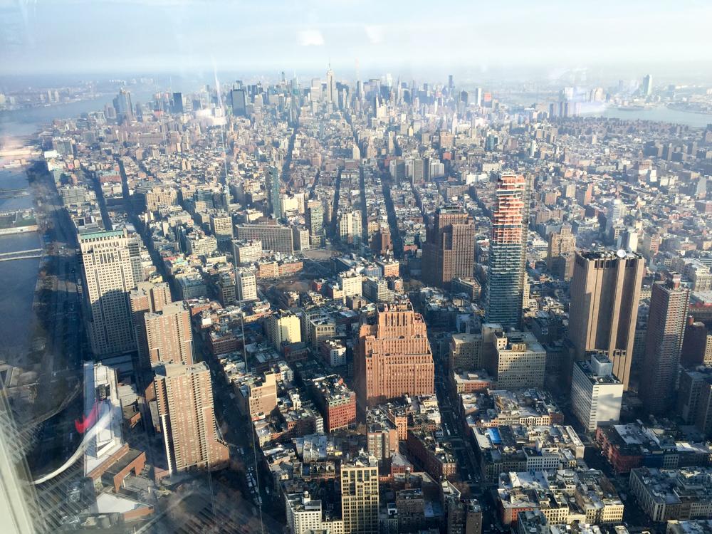 Uitzicht vanaf Freedomtower