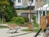 Speeltuin bij bibliotheek van St. Aubin sur Mer