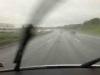 Het weer onderweg was heel de dag slecht