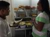 Eten halen bij Padang restaurant