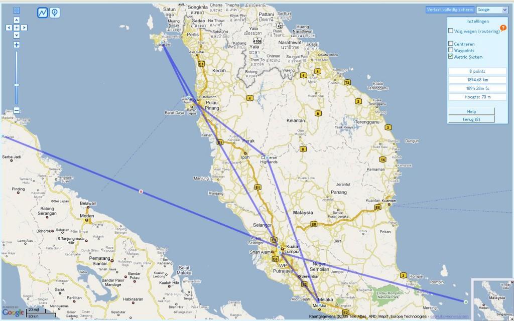 Kaartje Maleisie
